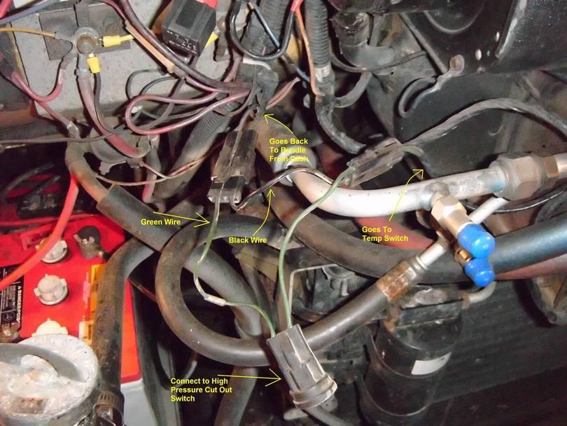 Ac Clutch Wiring Harness