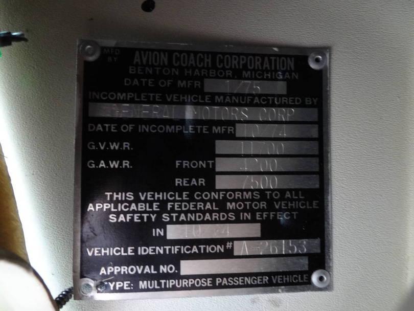 Avion metal plate