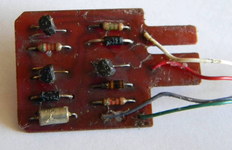 PCB found under dash behind washer switch