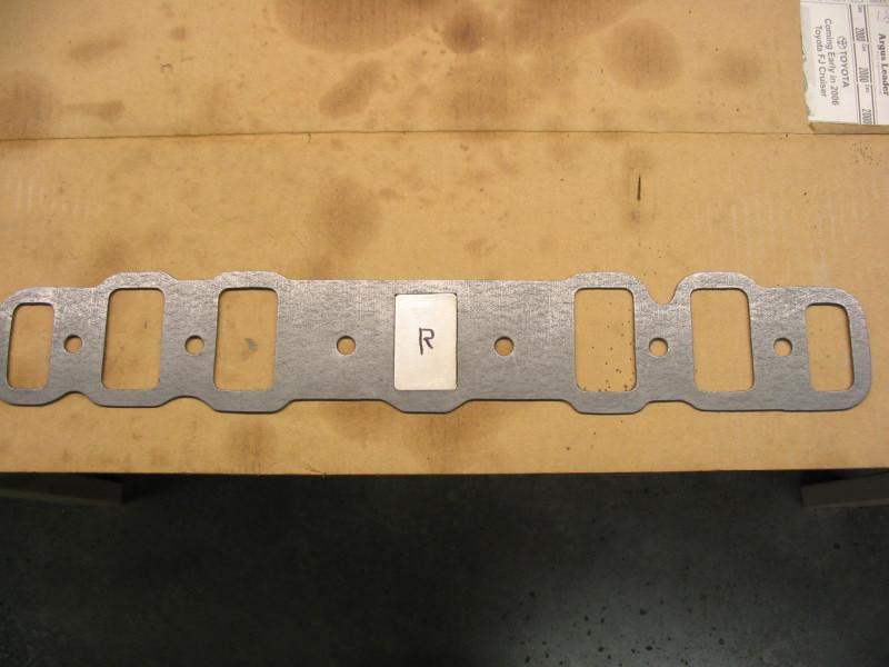 intake manifold gasket plates
