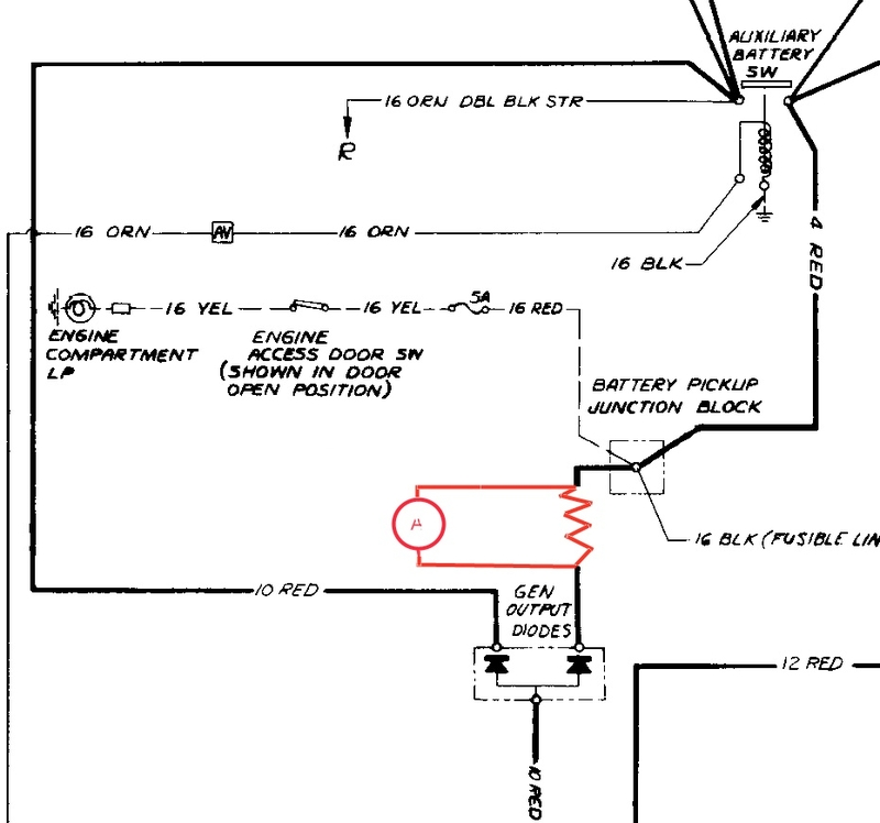 Isolator Wiring Modified With Shunt And Ammeter