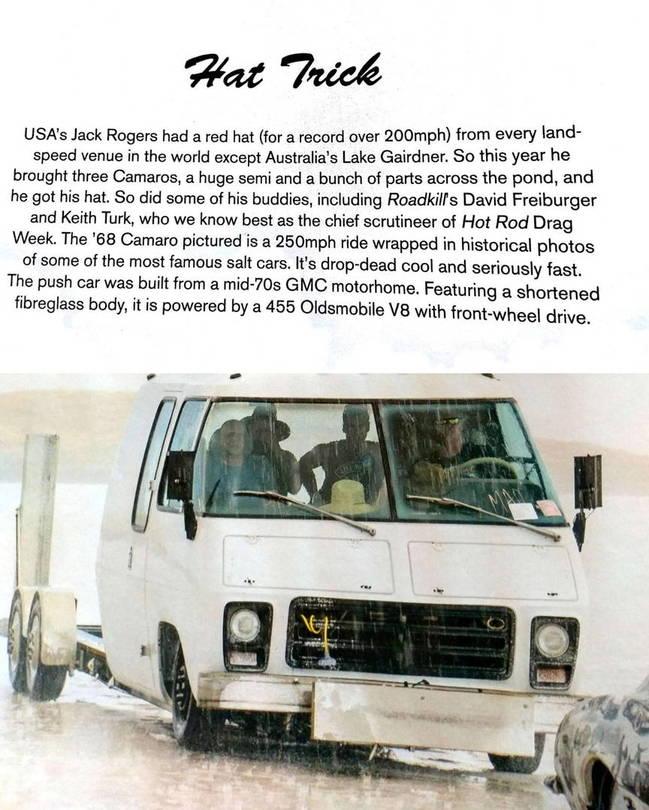 Drag Race Push Truck