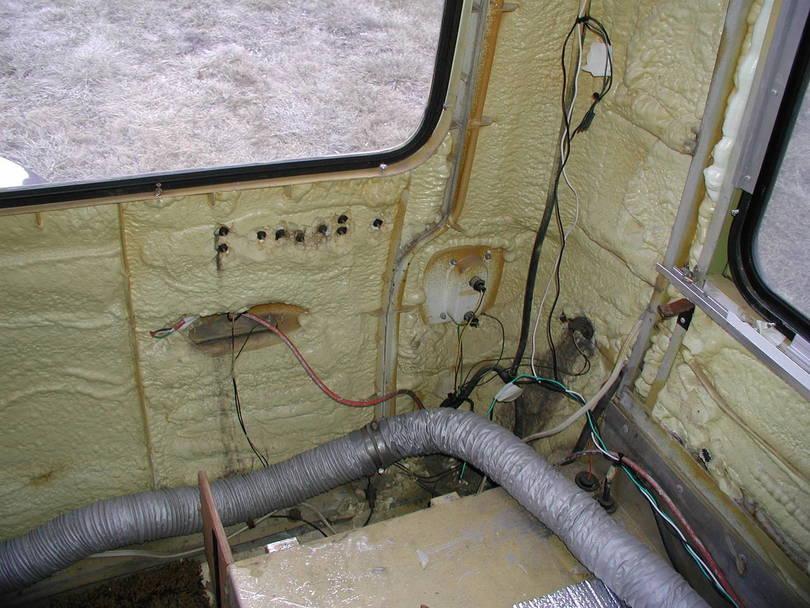 rear panel inside