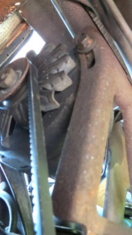 403 alternator adjustment support