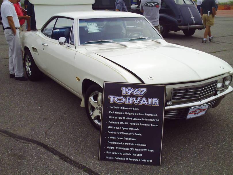 Toronado Powered Corvair