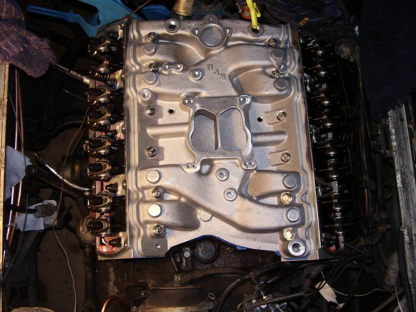 Edelbrock Heads And Aluminum Manifold Upgrade