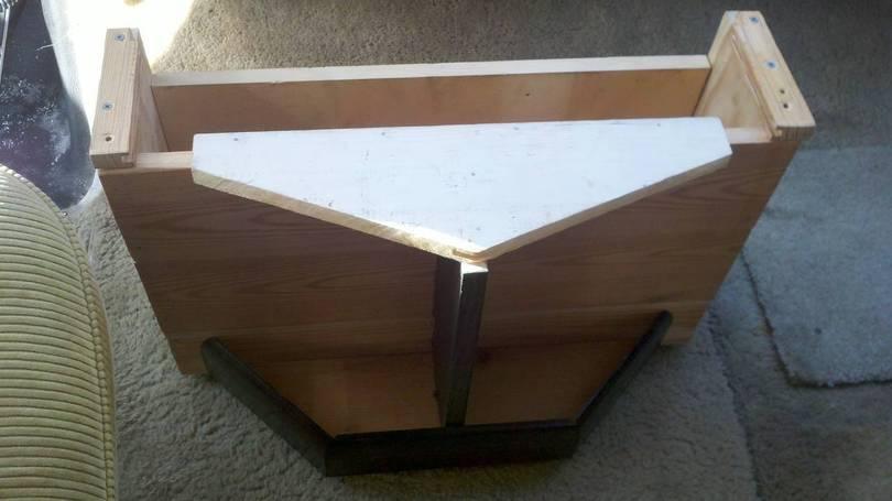 table in progress