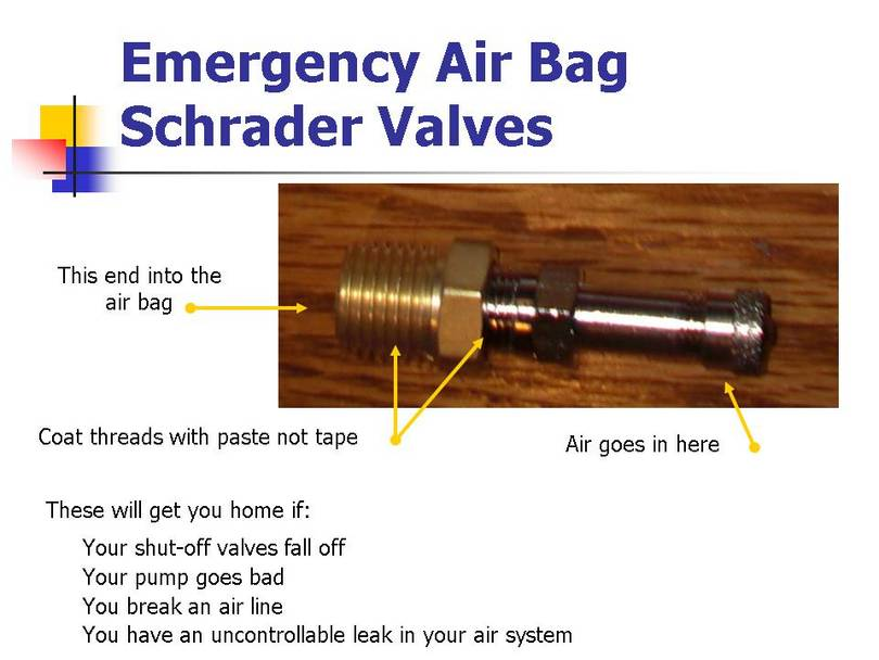 schrader valves