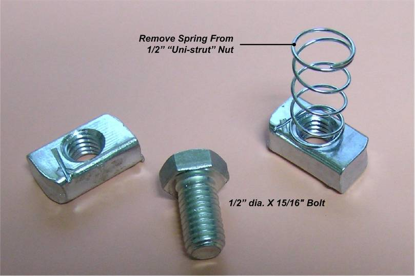Attaching Nut and Bolt