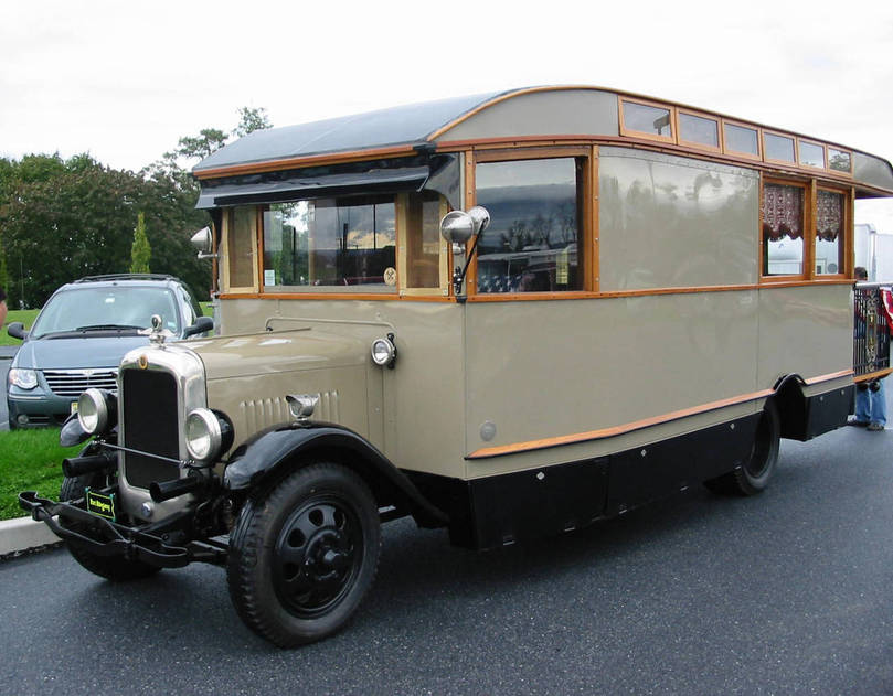 1926 GMC Motorhome