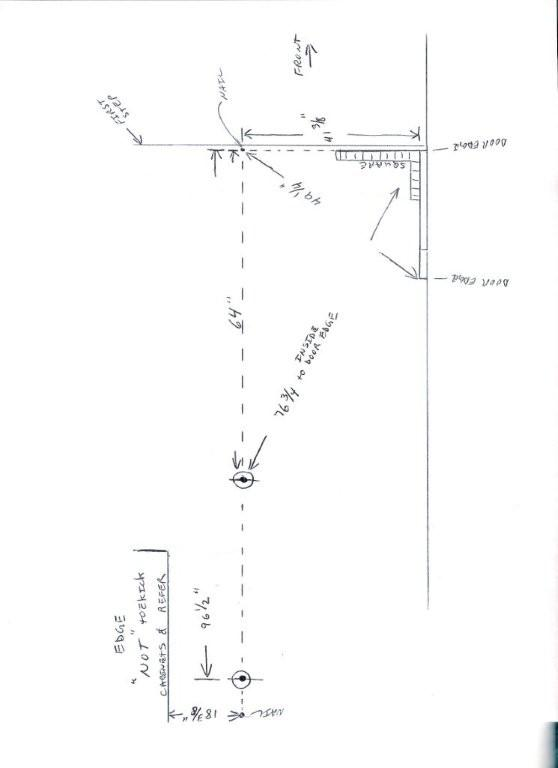 23 foot gas tank senders location