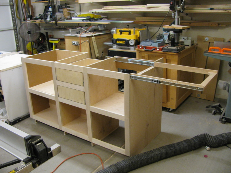 Kitchen Base Cabinet With Counter Extension
