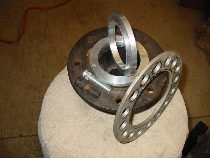 Hub Extenders for using steel wheels