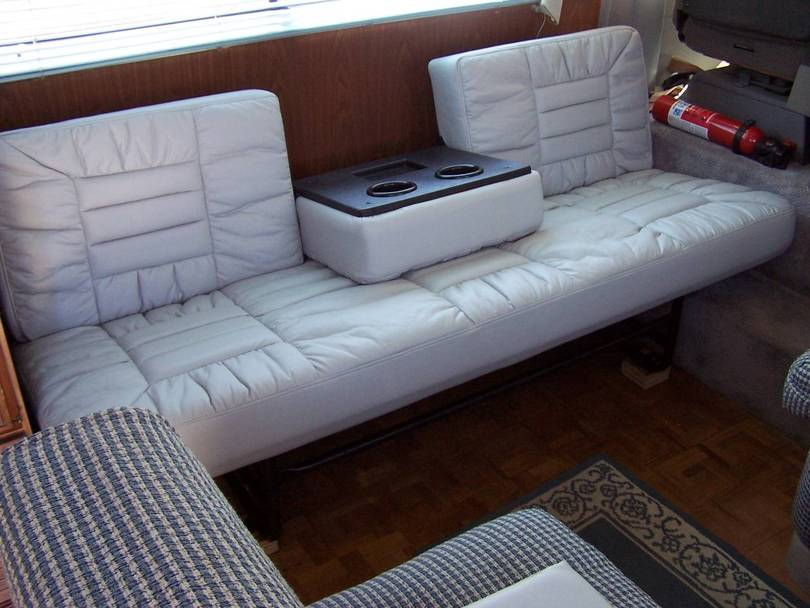 Motorhome Sofa Winnebago Rv Features Extendable Sectional