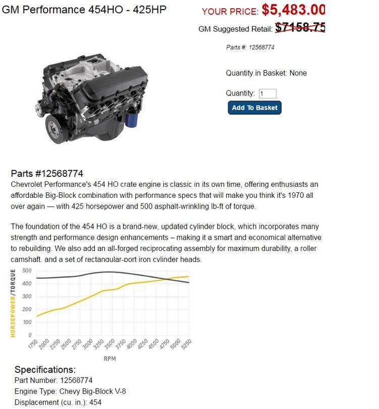 GMCforum: GMCnet » modern engine swap