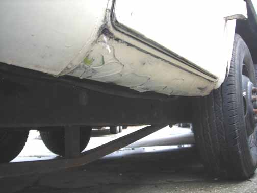 Rear Door Sill Cancer