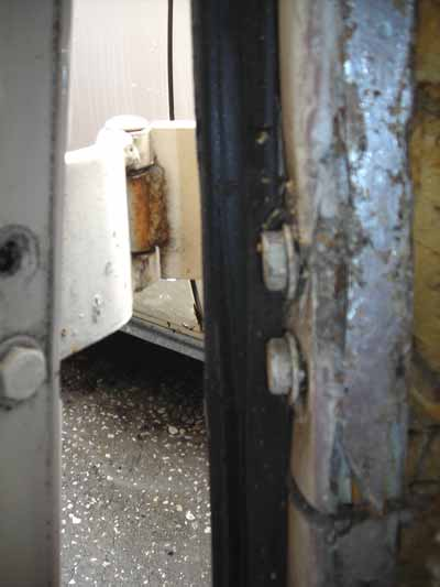 The Ugly Rear Door Frame