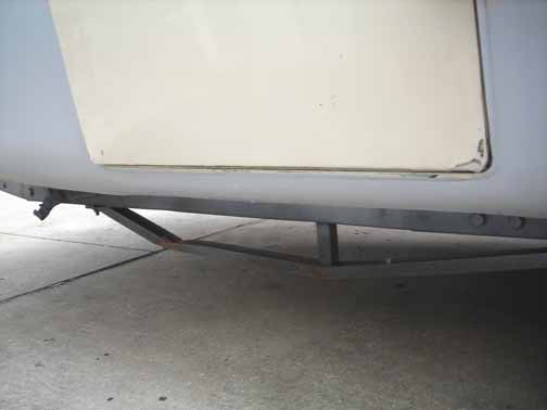 Passenger-Side Hatch and Rocker Sealed Up