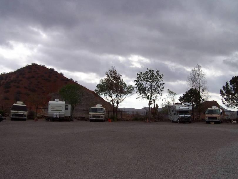 Queen Mine RV Park, Bisbee AZ.