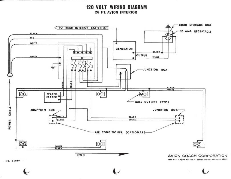 120vac wire diagram