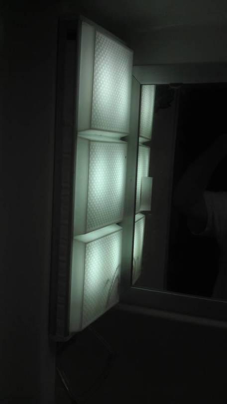 LEDs on, checking for brightness