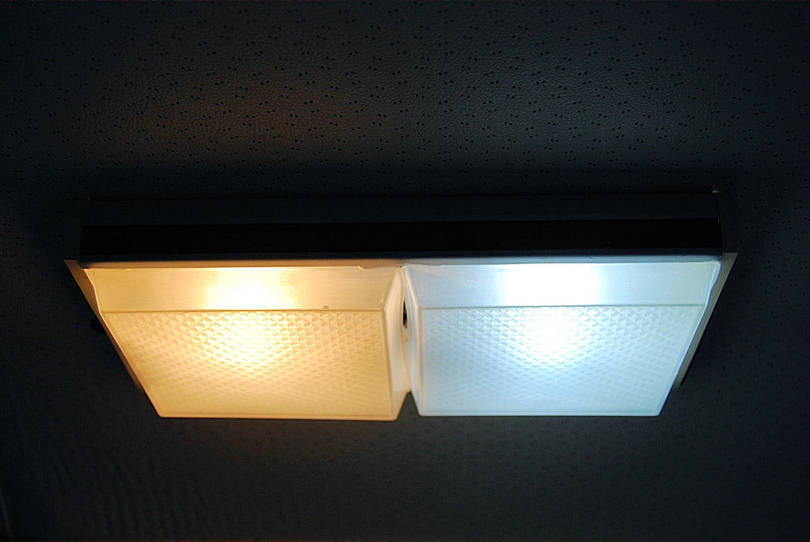 Interior LED lighting.