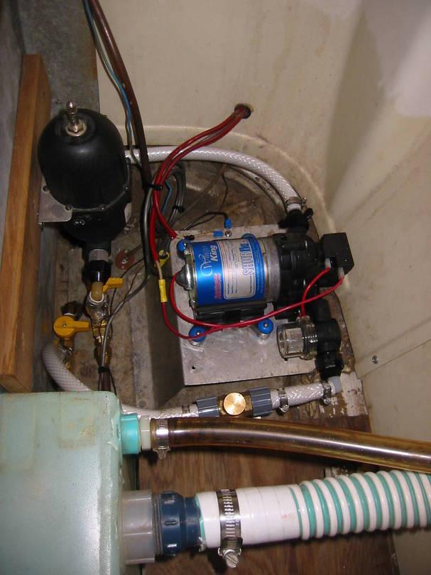 Avion Water Pump Installation #1