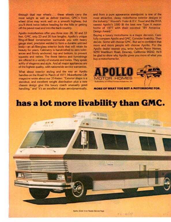 Apollo vs GMC ad2