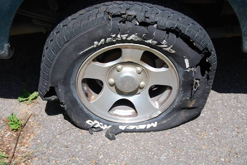 tire blowout Tire blowouts are a real nuisance and actually pretty dangerous, especially in hot environments like texas here are some tips for avoiding tire blowouts.