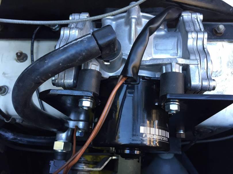 JEasy mounting bracket for Azure vacuum pump