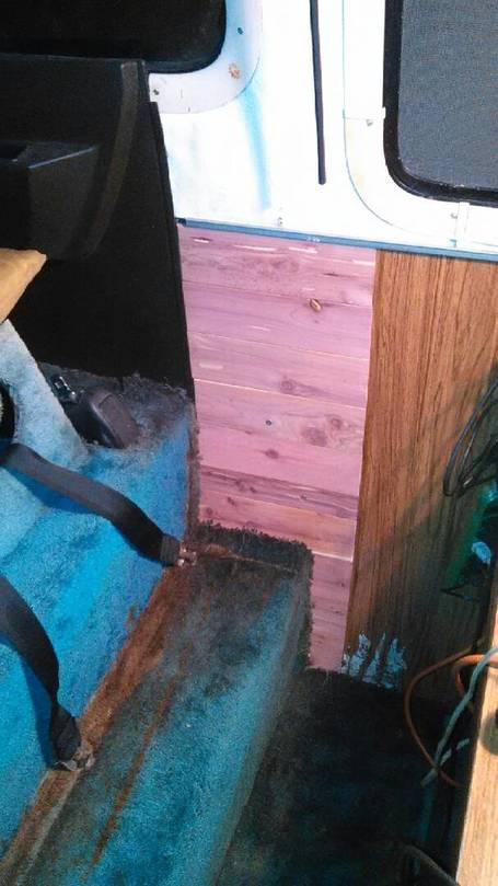 cedar paneling