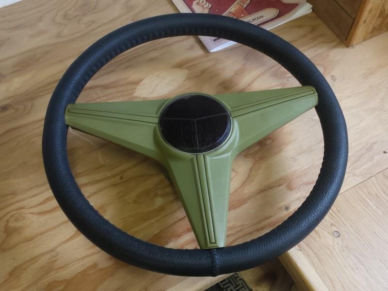 Steering Wheel Rebuild