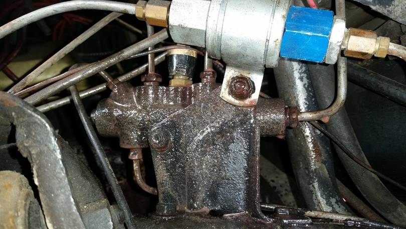 Old proportioning valve