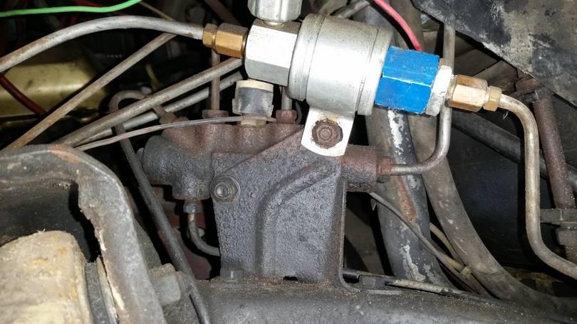 Old proportioning valve