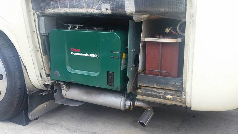 Our Onan 6.5 kW Barbarian