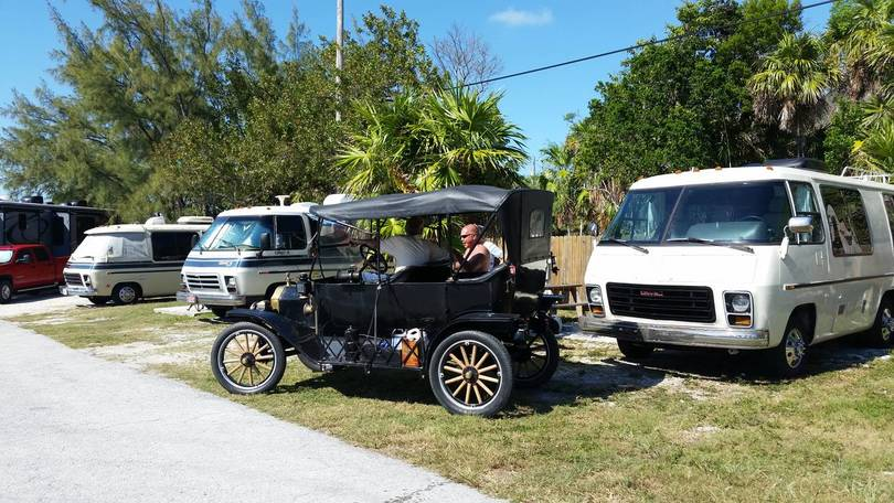 Rich and Liz, GMC and Model T