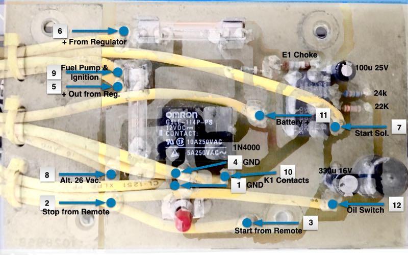 Mystery Onan Control Board