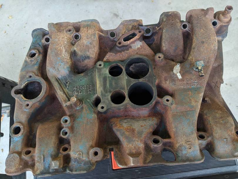 Stock intake partially clean