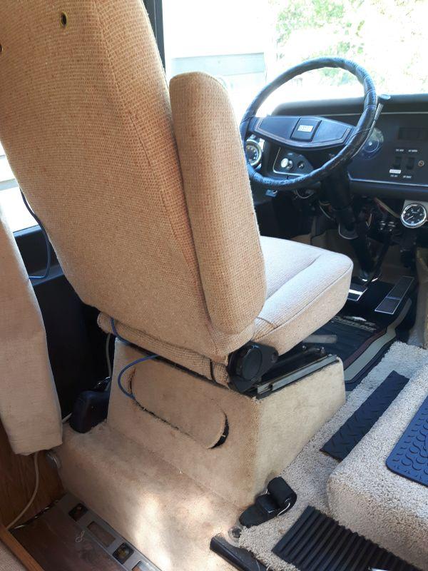 Old Seatbelt Seat Orientation