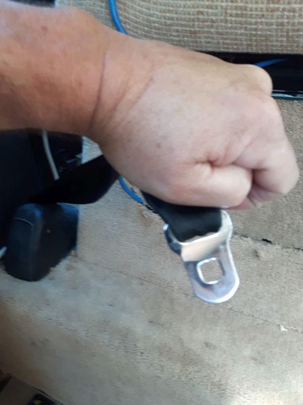 Old Seatbelt Outboard Clasp