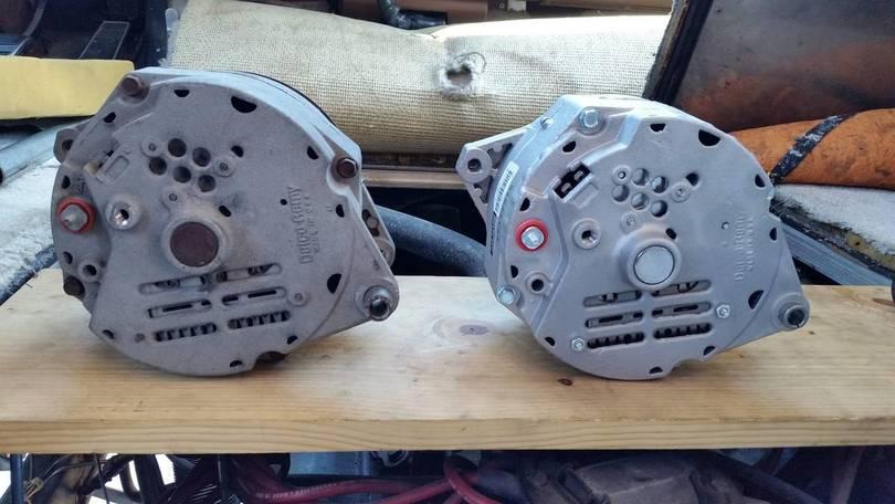 Old and New Alternators
