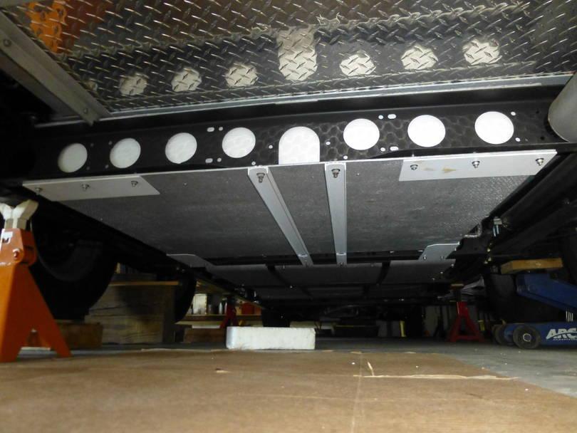 Gray Tank Installed