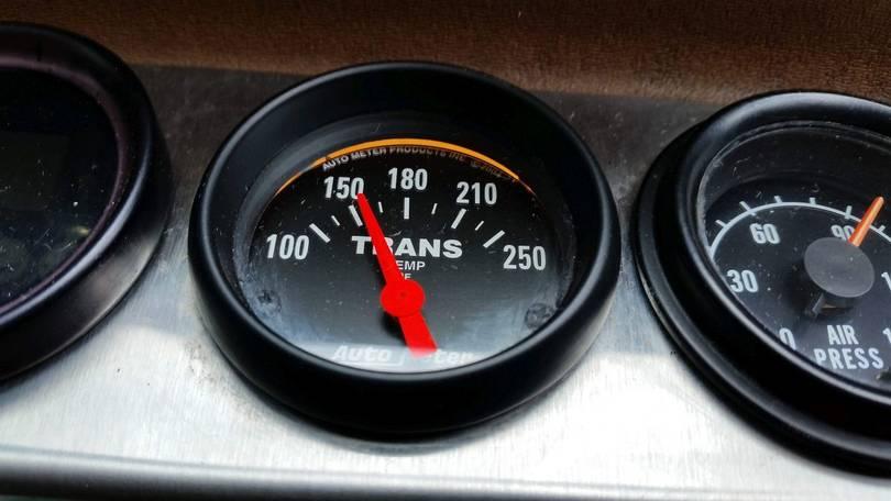 New Transmission Temperature Gauge Works!