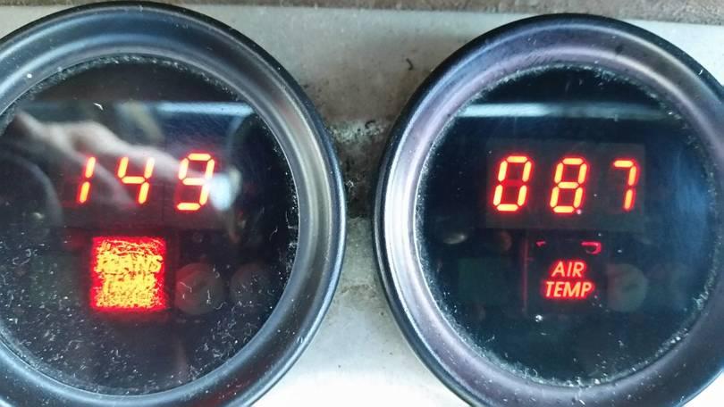 Old Transmission Temperature Gauge